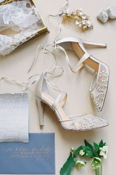 33d0aabcd2a4 Hottest 2017 Wedding Shoes Trends ❤ See more  http   www.weddingforward