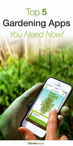 Top 5 Gardening Apps !