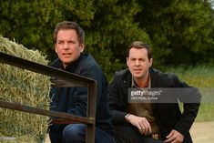 'Till Death Do Us Part' -- Terrorism threatens to shake the foundations of the Navy and NCIS, when the team continues to be eluded by the newest member of the NCIS Most Wanted Wall. Meanwhile, Jimmy Palmer's destination wedding is impacted by the case, on the season finale of NCIS, Tuesday, May 15 (8:00-9:00 PM, ET/PT) on the CBS Television Network. Pictured left to right: Michael Weatherly and Sean Murray