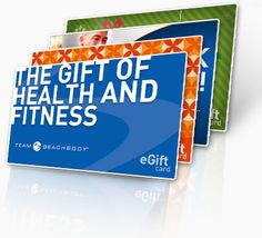 Give the gift of health and fitness!!