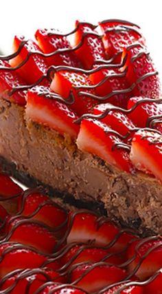 Strawberry Nutella Cheesecake Recipe