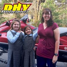 Congratulations to Blythe from #WestChester on their recent purchase of this 2014 #Yamaha #Waverunner #VXR Have a great time outrunning everything else on the water and thank you for jumping over the bridge to make your purchase at #DHYMotorsports #mynewride #dhynj #PWC