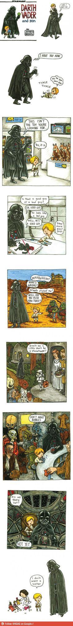 """""""Darth Vader and son..."""""""