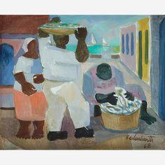 Peixeiros, 1968 -  Di Cavalcanti