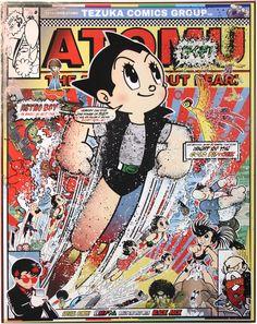 Sean Danconia: Astro Boy, The Astounding Atomic Automaton (Tezuka Robotics) #artist #art #manga