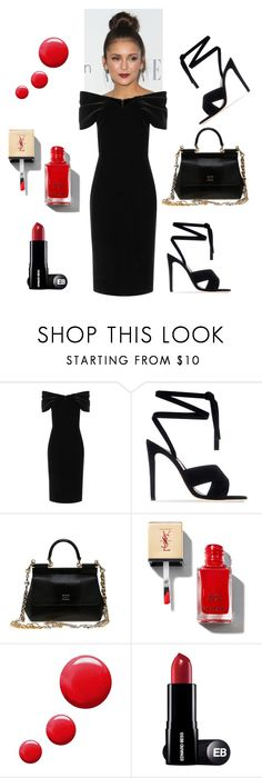 """""""Untitled #25"""" by fejsa ❤ liked on Polyvore featuring Emilio De La Morena, Gianvito Rossi, Dolce&Gabbana and Topshop"""