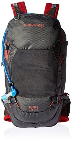 Platypus Duthie AM 12 Hydration Pack RavenMolten Lava >>> Click image for more details.(This is an Amazon affiliate link)