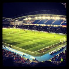 American Express Community Stadium (Amex), Falmer, Brighton, East Sussex - home ground of Brighton and Hove Albion FC Brighton & Hove Albion Fc, Brighton And Hove, English Football Stadiums, Everton Fc, European Football, East Sussex, Football Players, England, Community