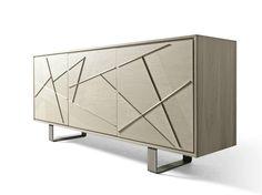 Wooden sideboard with doors Cabinet Furniture, Dining Room Furniture, Table Furniture, Home Furniture, Modern Furniture, Furniture Design, Baby Cradle Wooden, Esstisch Design, Wardrobe Room