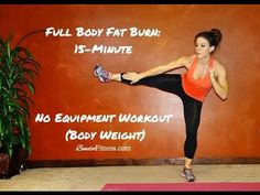 Full Body Fat Burn: Home Workout HIIT-No Equipment | Bender Fitness