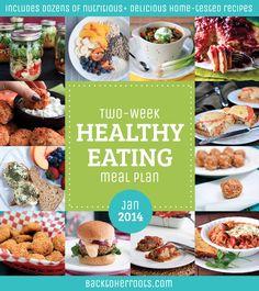 two-week healthy eating meal plan: january 2014