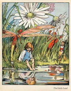 The Helpful Art Teacher: The Little Land by Robert Louis Stevenson