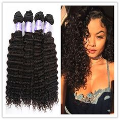 Brazilian Deep Wave Brazilian Deep Curly Virgin Hair Bundle Deals, Brazilian Virgin Human Hair Extension No Shed No Tangle Free Ship Extension Weft Seamless Skin Weft Hair Extensions From Noblevirginhair, $0.42| Dhgate.Com