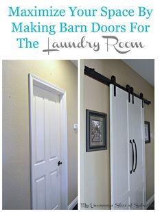 Maximize a Small Space With Barn Doors | Hometalk