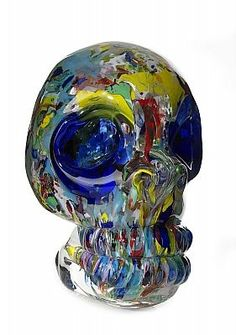Erik Dietman, Skull, 2000