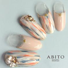 ABITO -nail- nd94543 | ABITO -nail-(アビトー)のネイルデザイン・ネイルアート・ネイルカタログを探すなら楽天ビューティ。ABITO -nail-