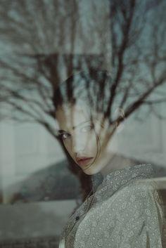 Photography Inspiration - portraiture - women portraiture - reflection effect…