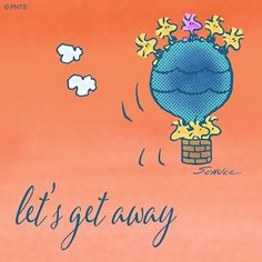 Let's Get Away - Woodstock and Friends in Hot Air Balloon Snoopy The Dog, Charlie Brown Y Snoopy, Snoopy Love, Snoopy And Woodstock, Peanuts Cartoon, Peanuts Snoopy, Peanuts Comics, Snoopy Drawing, Peanuts Characters