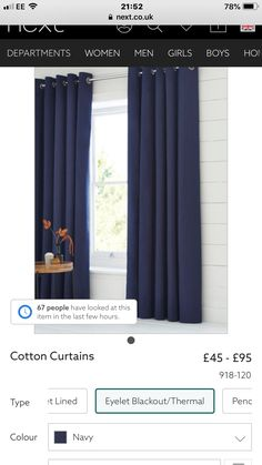 Cotton Curtains, Master Bedroom, Color, Home Decor, Master Suite, Decoration Home, Room Decor, Master Bedrooms, Colour