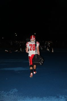 One of my favorite pics...my son's last high school football game..end of the game..the final walk off the field as a high school player.  The end of an exciting chapter and can't wait for the next book :)