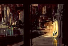 And we sat, and we talked, and the world went by. by PascalCampion.deviantart.com on @deviantART