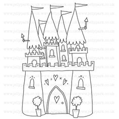 jellypark 189 new home keys digital stamp 150 httpwwwjellyparkcouk189 new home keys digital stamp digi stamps pinterest new homes - Castles Pictures To Colour
