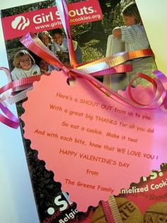 Pinterest Girl Scout Cookie Valentines