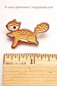 Flying Squirrel!!! https://www.etsy.com/listing/266555117/flying-squirrel-pin-squirrel-enamel-pin