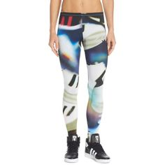 Dsquared2 Underwear Tattooed Printed Leggings 145 Liked On Polyvore Featuring Pants Multi Color Colorful