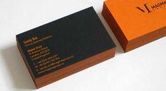 35 Refreshing Orange Business Card Designs