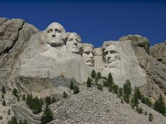 Mount Rushmore, SD.  I got caught in a blizzard one year right down the road in Custer.  Strangely it was kind of fun.