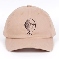 Hip Hop One Punch Man Adjustable Cowboy Cap Denim Snapback Hat for Women Men