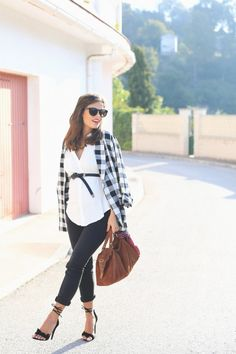 @roressclothes closet ideas #women fashion outfit #clothing style apparel Maternity Outfit