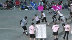 You Should Be Watching More Roller Derby Footage — WFTDA D1 Playoffs, Victoria vs Toronto. At 08:38 -...