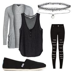 """""""Alex Dorame inspired outfit"""" by bella-haverland ❤ liked on Polyvore featuring мода, TOMS, New Look и Miss Selfridge"""