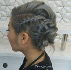 Stylish Everyday Hairstyles for Braid Updos - Updo Hairstyles for Medium Length . Stylish Everyday Hairstyles for Braid Updos - Updo Hairstyles for Medium Length Hair Updos For Medium Length Hair, Short Hair Updo, Medium Hair Styles, Short Hair Styles, Hair Medium, Braid Hair, Medium Long, Everyday Hairstyles, Trendy Hairstyles