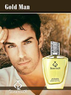 Parfum pentru barbati Gold Man EDP - 50 ml Gold Man, The Originals, Grapefruit, Youtube, Poster, Exfoliating Scrub, Fragrance, Youtubers, Billboard