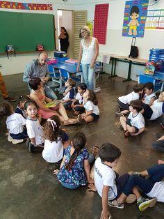SECRETÁRIO VISITA ESCOLA Edgar Ajax Dos Reis Filho está se sentindo abençoado em Escola Sueli Contini Marques. #Gratidão #Educação #Franca - ajax-noticias.blogspot.com