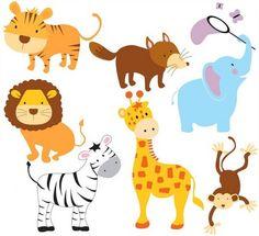 baby animals cute animals fun animals giraffe by blackleafdesign cute jungle animals baby shower cake jpg Flying Elephant, Elephant Logo, Safari Animals, Baby Animals, Cute Animals, Looney Tunes, Cute Doodles Drawings, Baby Shower Clipart, Fox Kids