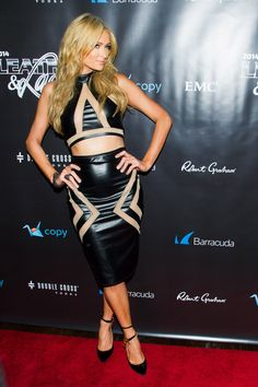"Galeria Paris Hilton Brasil - 11ª ""Leather & Laces"" Party in New York (31 de Janeiro)/Kosty555 info - 042"
