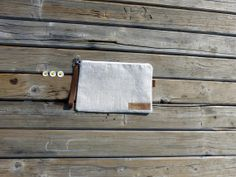 ORGANIC linen pouch  eco friendly linen french  by dawnaparis, €30.00