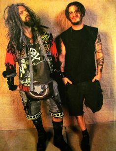 Rob Zombie and Phil Anselmo - I'd like to be between them =D