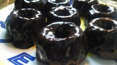 21 Day Fix Approved Baked Donuts with Chocolate Ganache | HealthyFeelsHappy.com