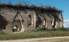 Ruins of an old church - Iglesia vieja destruida en San Juan Cancuc, Chiapas, Mexico