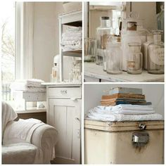 ... voor brocante on Pinterest  Shabby chic cottage, Day bed and Vintage