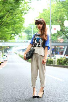 【ストリートスナップ】@Street of Harajyuku, Tokyo Fashionsnap.com | Fashionsnap.com