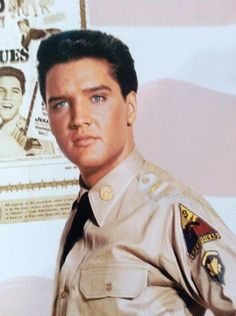 elvis Presley. From G.I Blues! Loved this movie
