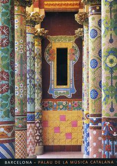Palau de la Música Catalana, Barcelona, Catalunya   via Ichabod H, on Flickr