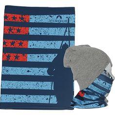 617b3a8f970 Wyoming Beanies · Cirque Flag Blue Outdoor Apparel