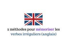Je vous propose aujourd'hui de découvrir deux méthodes pour mémoriser verbes irréguliers en anglais.  Méthode 1 La première est Encouragement, Adolescence, Hui, English, Writing Songs, Irregular Verbs, Learn English, Beginning Sounds, Children